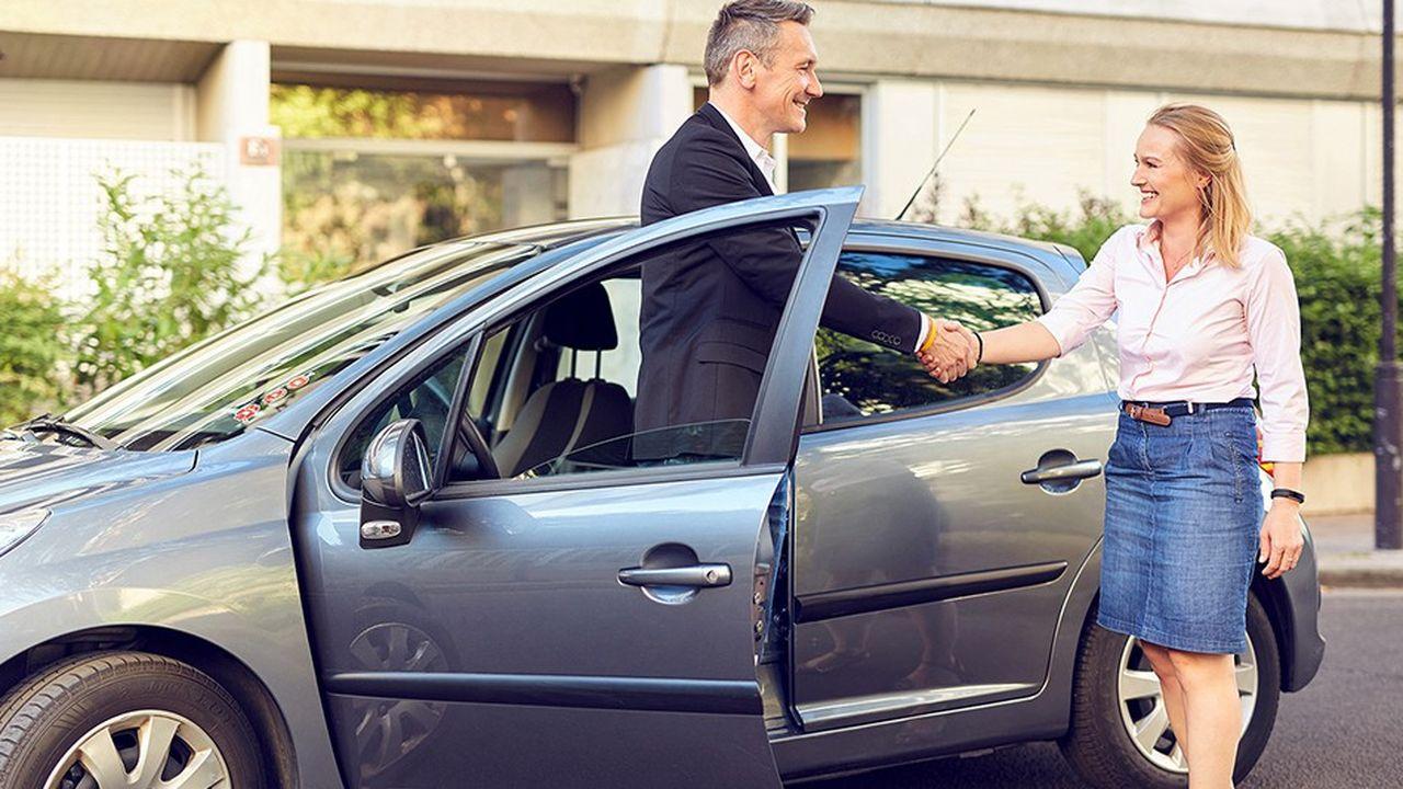 Lancée en 2012 sous le nom de WayzUp, Klaxit commercialise une solution de covoiturage auprès des entreprises afin de favoriser les trajets domicile-travail partagés.