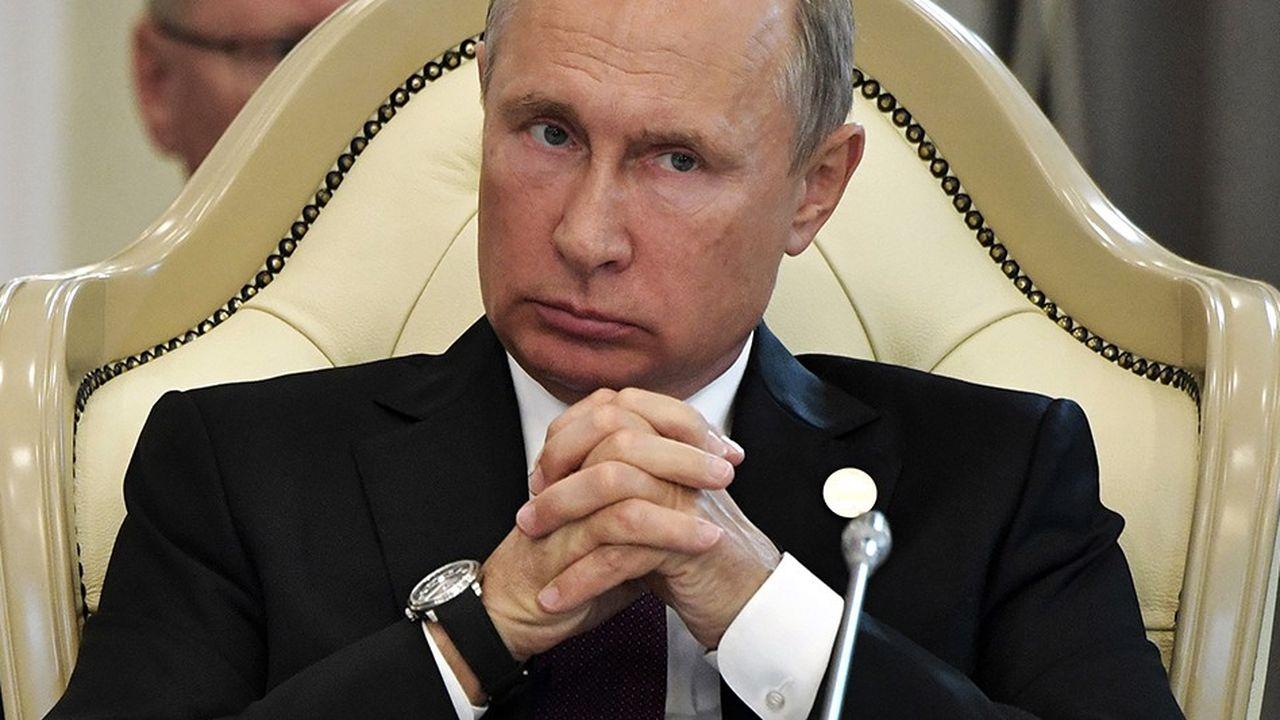 Le président Vladimir Poutine peine à relancer l'économie russe.