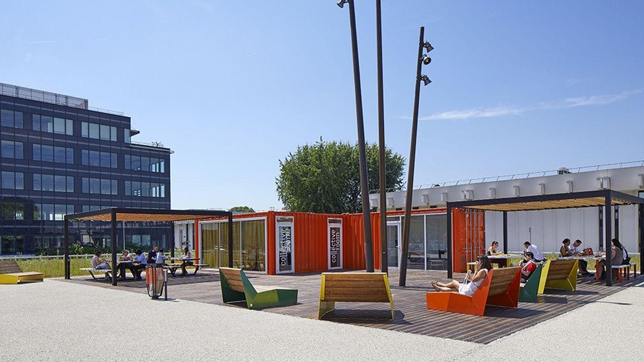 Le parc Icade de Rungis abrite 220 entreprises locataires (Thales, Danone-Eaux, System U, Olympus…) et 18.000 employés.