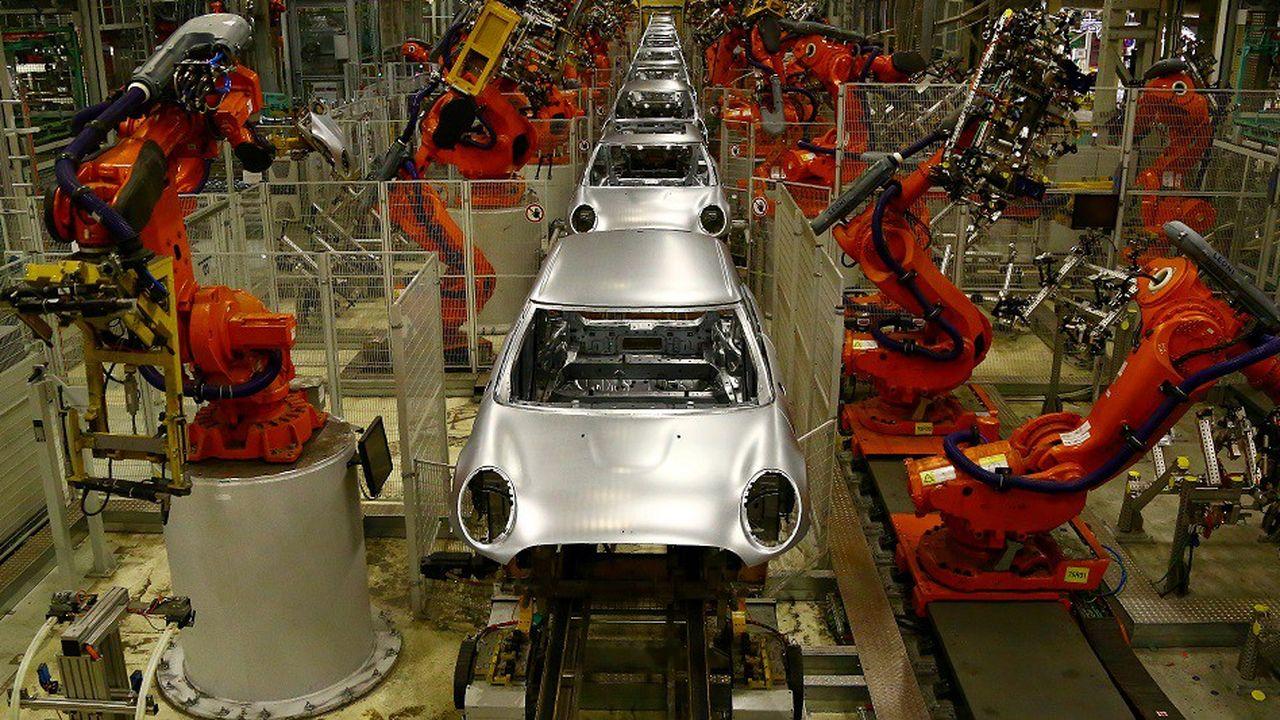 L'usine d'Oxford produit exclusivement des véhicules de la marque Mini.