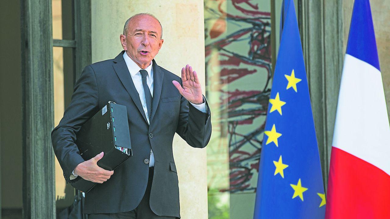 Le ministre de l'Intérieur Gérard Collomb a officialisé dans un entretien publié par «L'Express» ce mardi sa candidature à la mairie de Lyon en 2020 et prévu son départ du gouvernement après les élections européennes de mai2019.