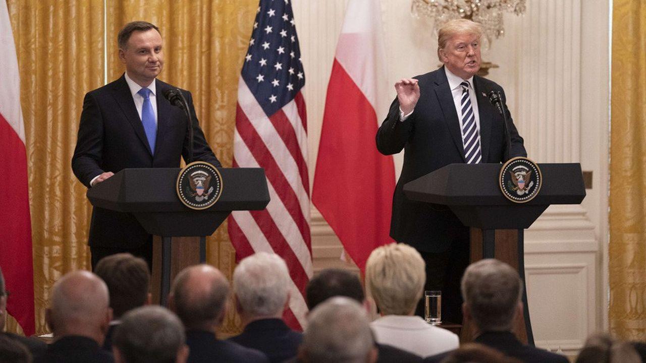 Le président polonais a longuement insisté sur «le comportement agressif» de la Russie