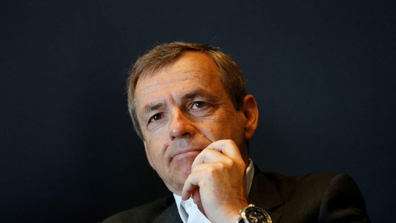 Alain Weill est le directeur général d'Altice Europe, la maison mère de SFR et RMC Sport.