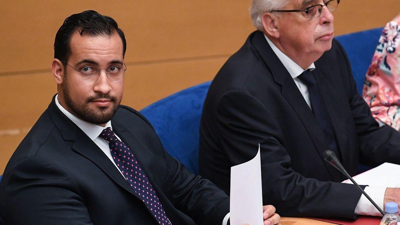 L'audition d'Alexandre Benalla devant la Commission d'enquête du Sénat aura duré plus de deux heures.