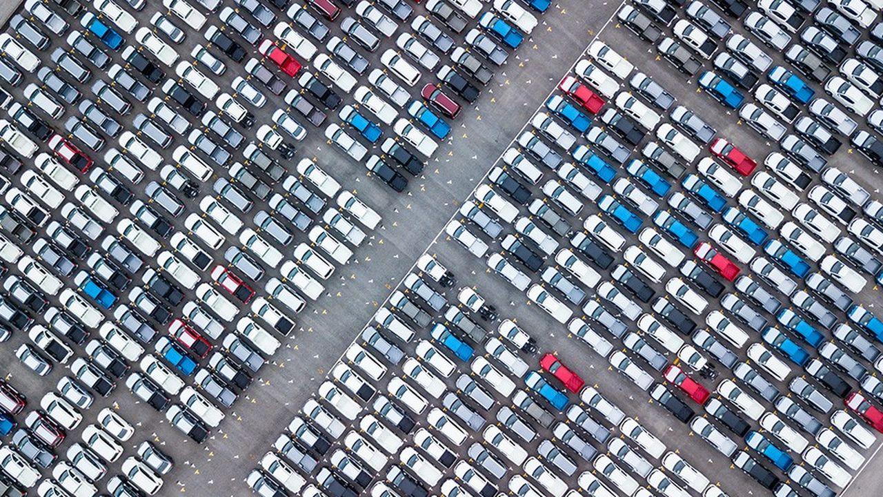 En juillet à 1,27million de véhicules neufs ont été vendus surmarché automobile européen.