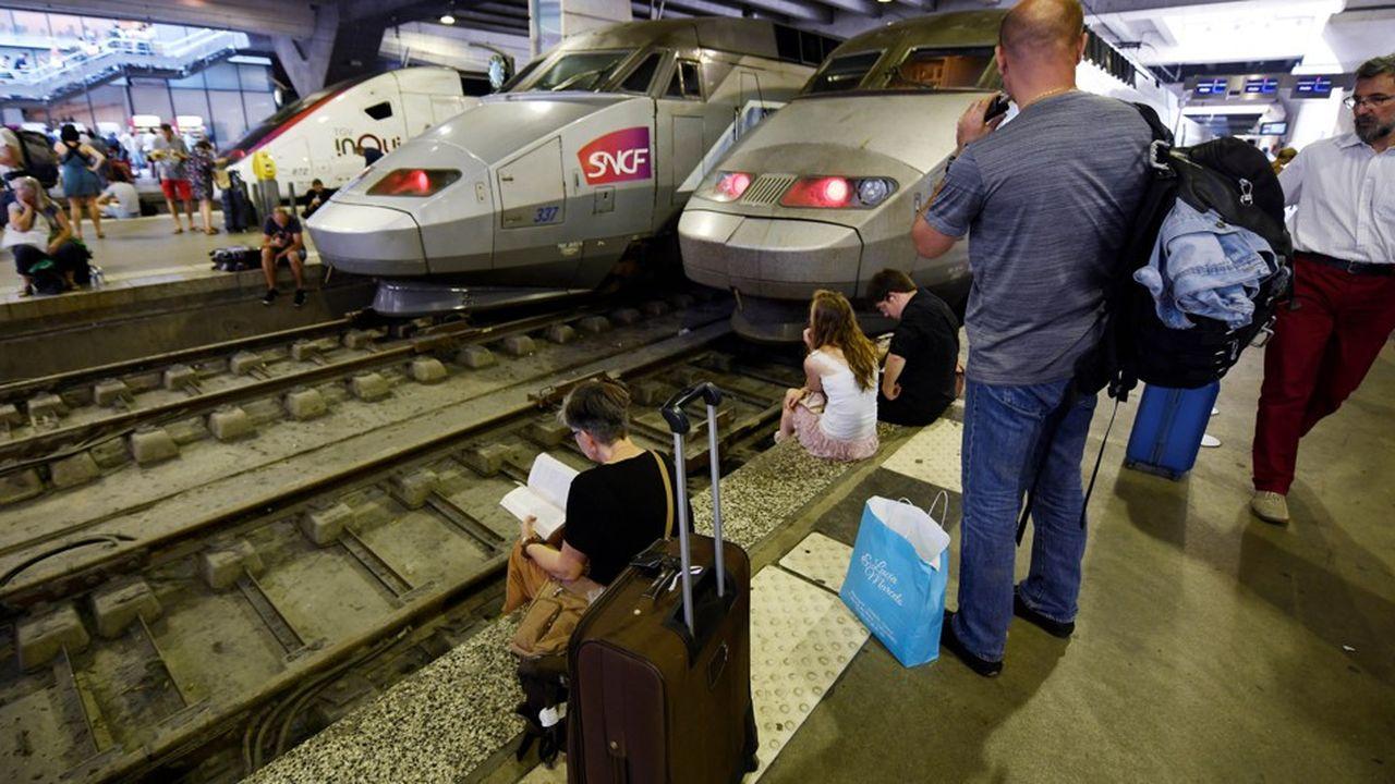 Le point faible des gares comme Montparnasse: ne dépendre que d'une seule source d'alimentation