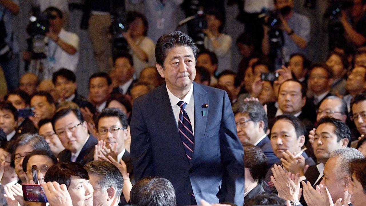 Shinzo Abe est arrivé au pouvoir en 2012