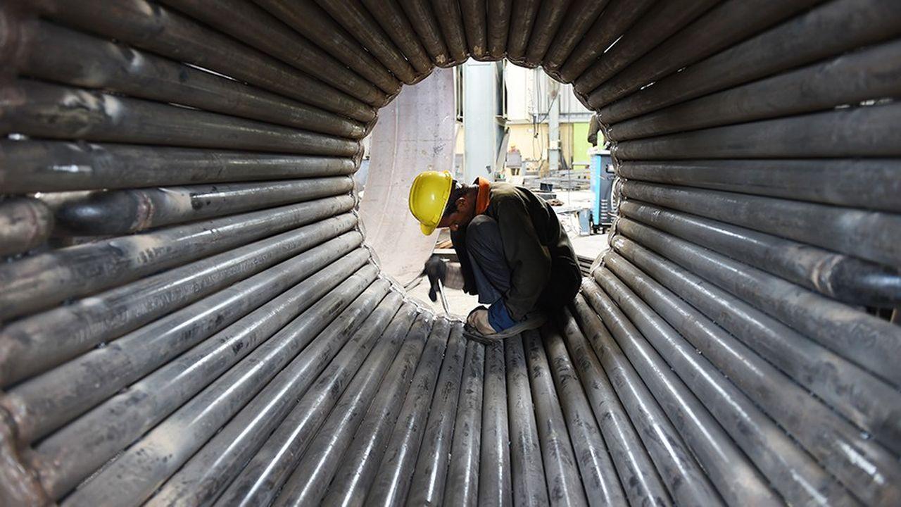 Pour Laurence Boone, chef économiste de l'Ocde, les risques pour la croissance mondiale s'intensifient et les incertitudes sont nombreuses.