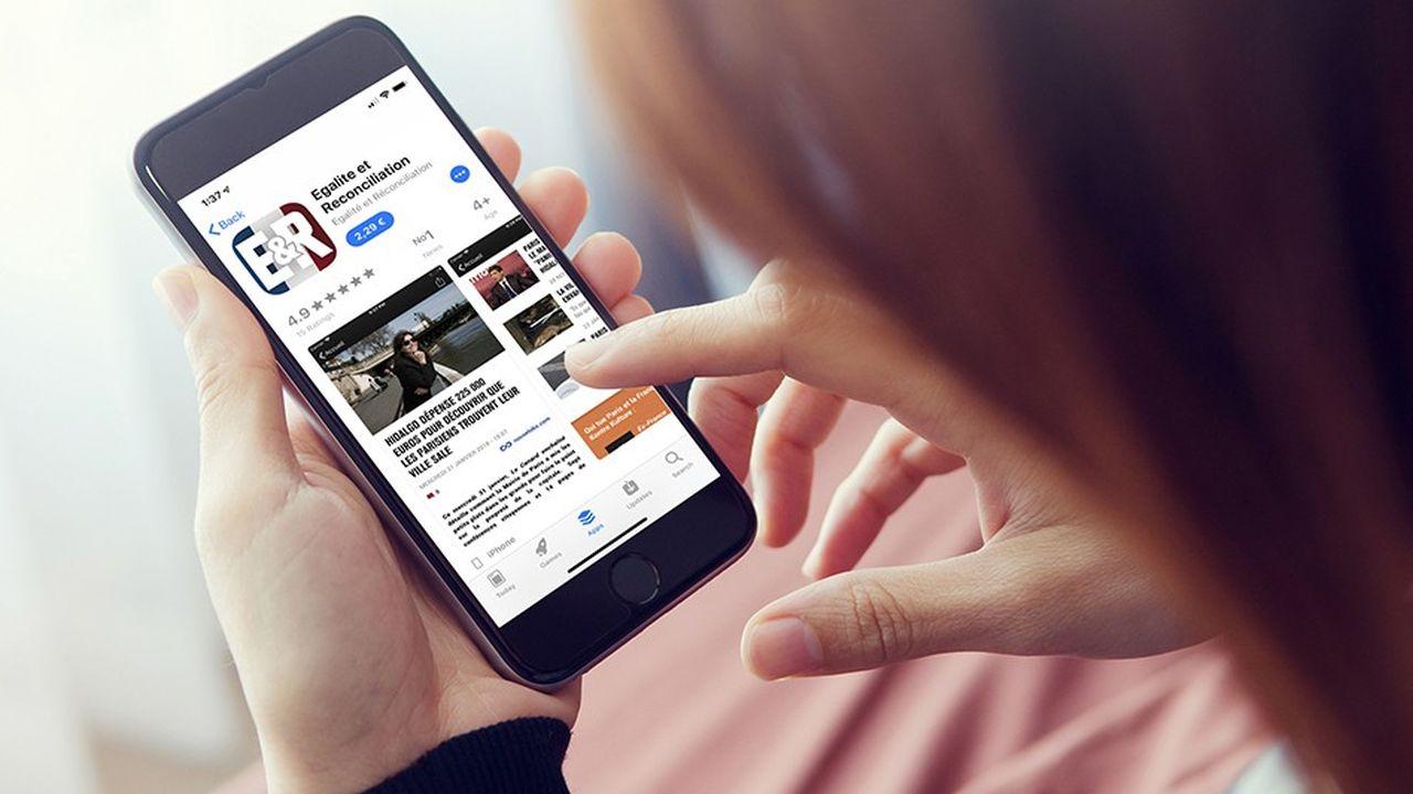 L'application Egalité & Réconciliation est désormais indisponible sur l'App Store.