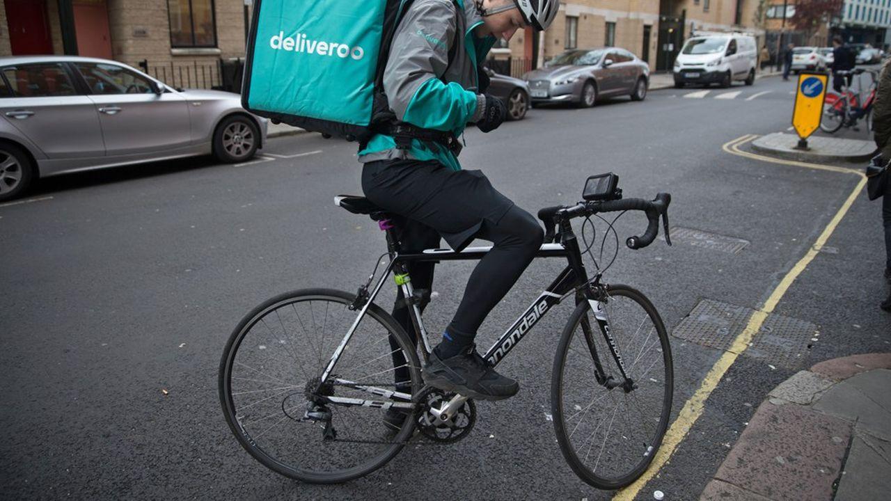 Deliveroo fait travailler quelque 35.000 coursiers à vélo, dans 12 pays et sur quatre continents