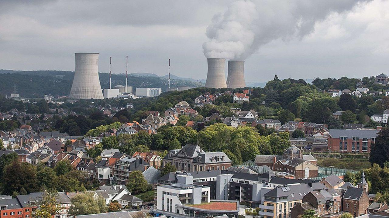 Le parc nucléaire belge (ici la centrale de Tihange, non loin de Liège), affiche sa plus mauvaise performance depuis 2015.