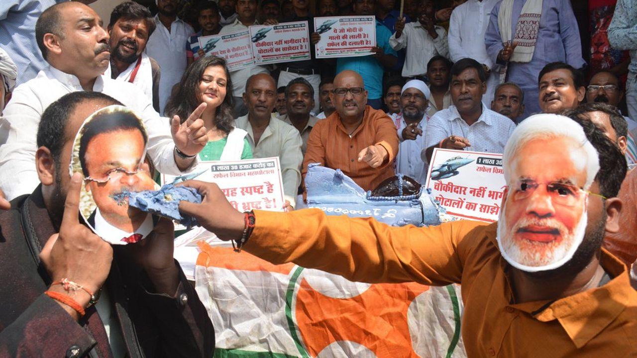 La vente de 36 Rafale à l'Inde est l'objet d'une bataille politique intérieure