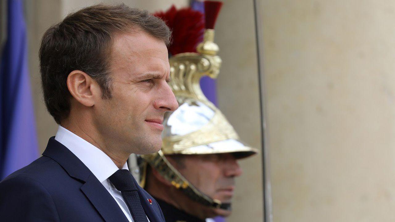 Emmanuel Macron a voulu mobiliser vendredi les députés LREM avant la présentation du projet de loi de Finances pour 2019.