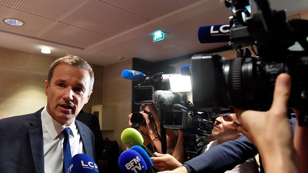 Nicolas Dupont-Aignan avait apporté son soutien à Marine Le Pen dans l'entre-deux tours de l'élection présidentielle de 2017