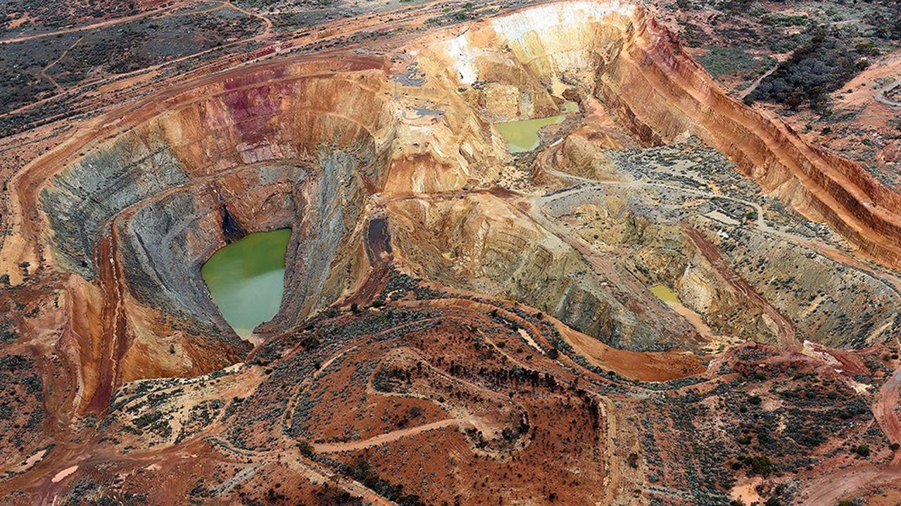 Mine d'or en Australie. En fusionnant, Barrick Gold et Randgold Resources veulent former un mastodonte de l'or, capable de produire 6,6millions d'onces, soit plus de 6% du métal qui sort de terre chaque année.