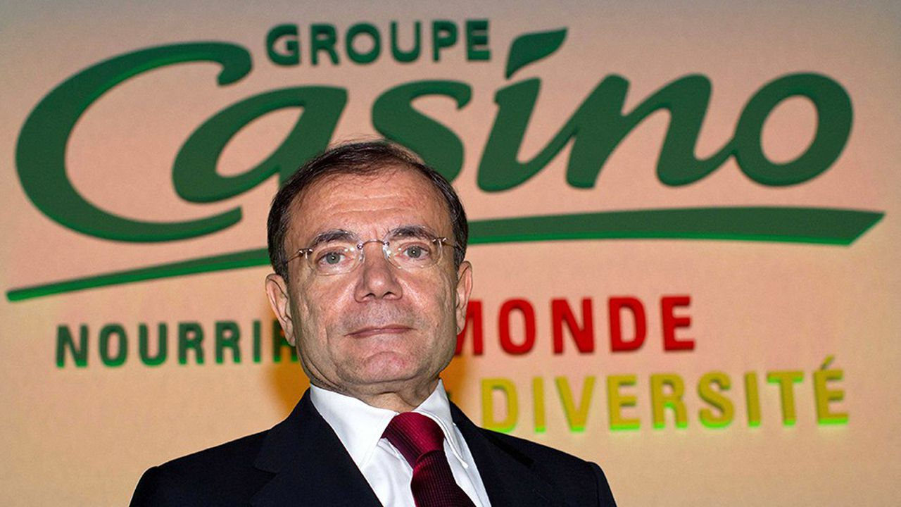 Jean-Charles Naouri a dû s'endetter pour construire son empire de la distribution.