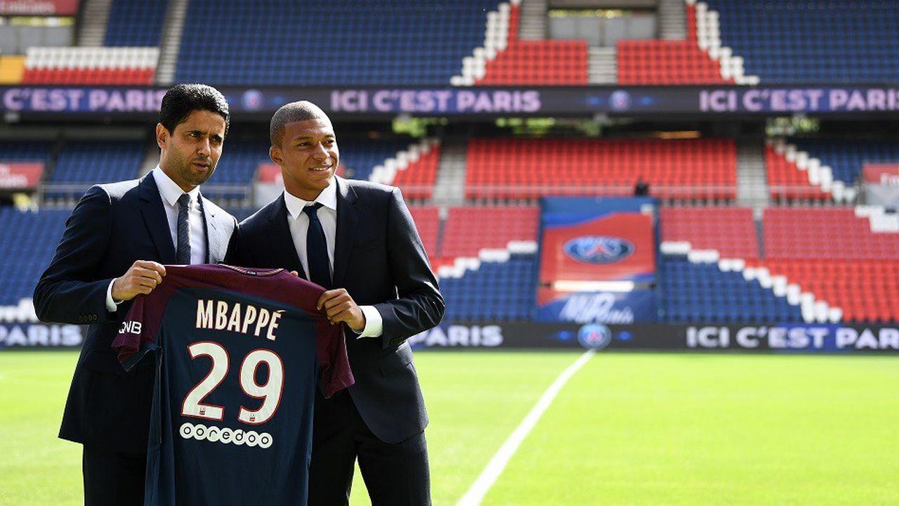 Le PSG a dépensé plus de 400millions d'euros lors de l'été 2017 pour s'offrir Neymar et Mbappé.