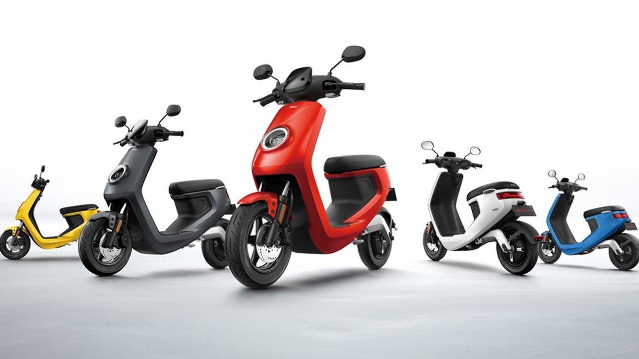 Niu est le leader chinois du scooter électrique