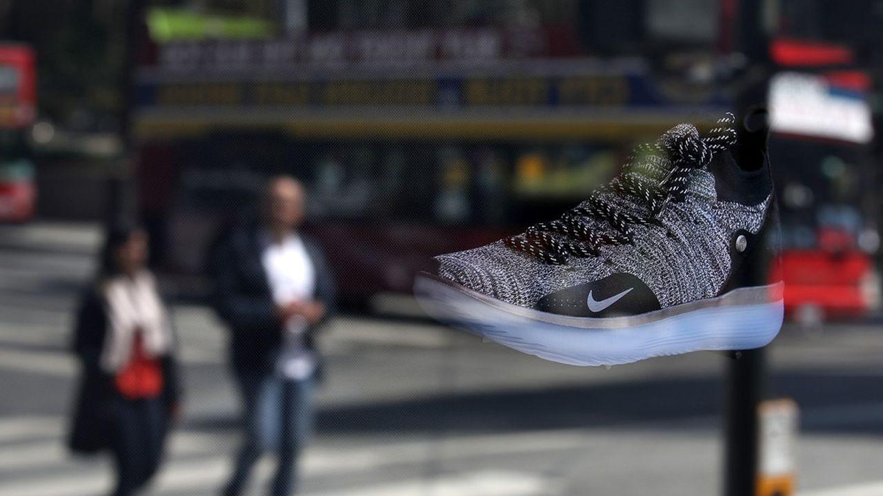 Le chiffre d'affaires trimestriel de Nike a frôlé les 10milliards de dollars