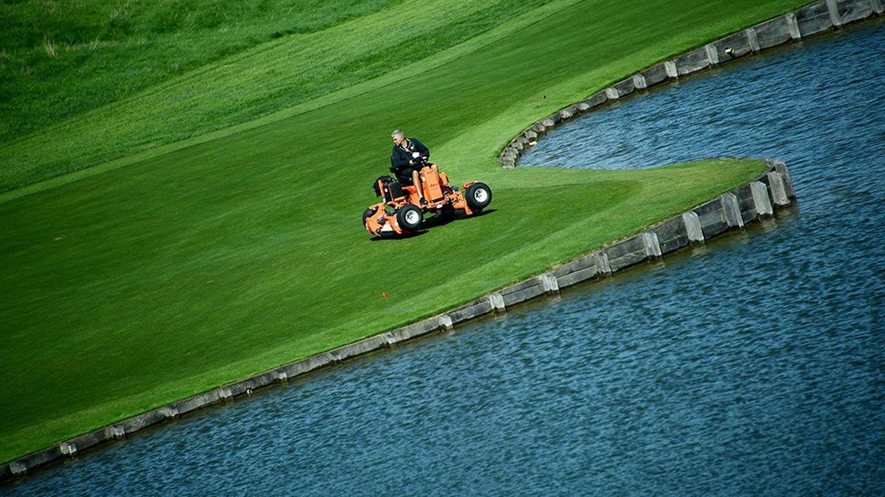 Golf National de Guyancourt ou se déroule la Ryder Cup