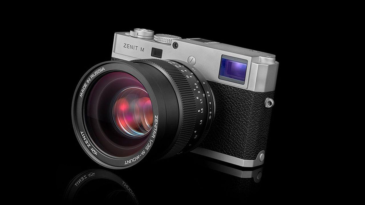 Le Zenit M, dernier né des célèbres appareils photo russes, est présenté pour la première fois ce mercredi à Cologne