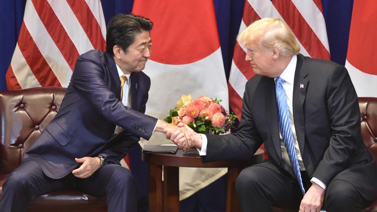 Le Premier ministre japonais et le président américain se sont rencontrés à New York, ce mercredi, en marge de l'assemblée générale de l'ONU