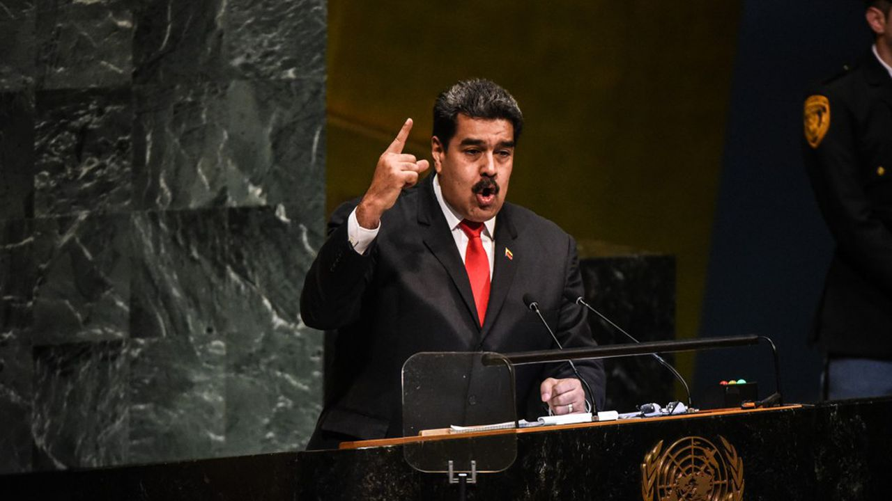 «Je suis disposé à serrer la main du président des Etats-Unis», a déclaré Nicolás Maduro lors d'un long discours de 50 minutes à la tribune des Nations unies