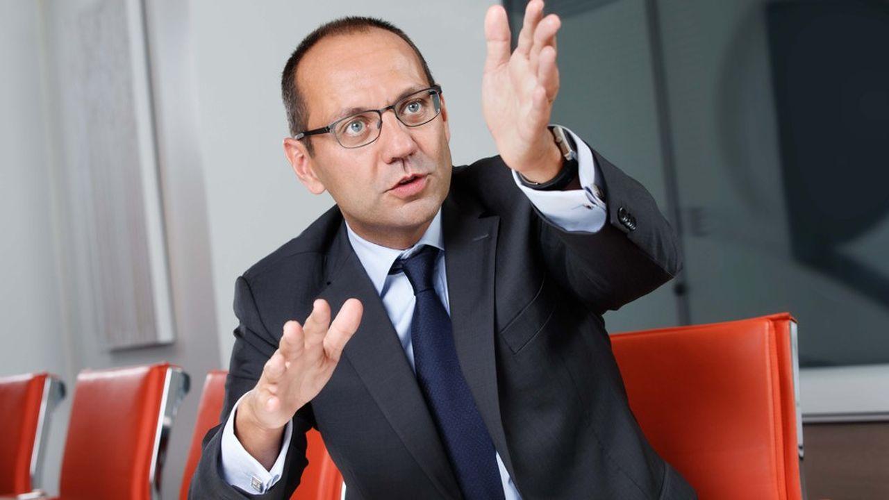 Guillaume Amar, directeur général du groupe Armonia.