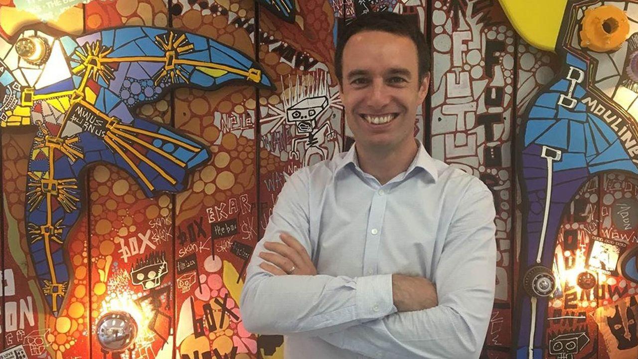 Matthieu Somekh, ancien chargé de la valorisation de l'innovation à l'Ecole polytechnique, dirige l'incubateur ZeBox de CMA CGM.