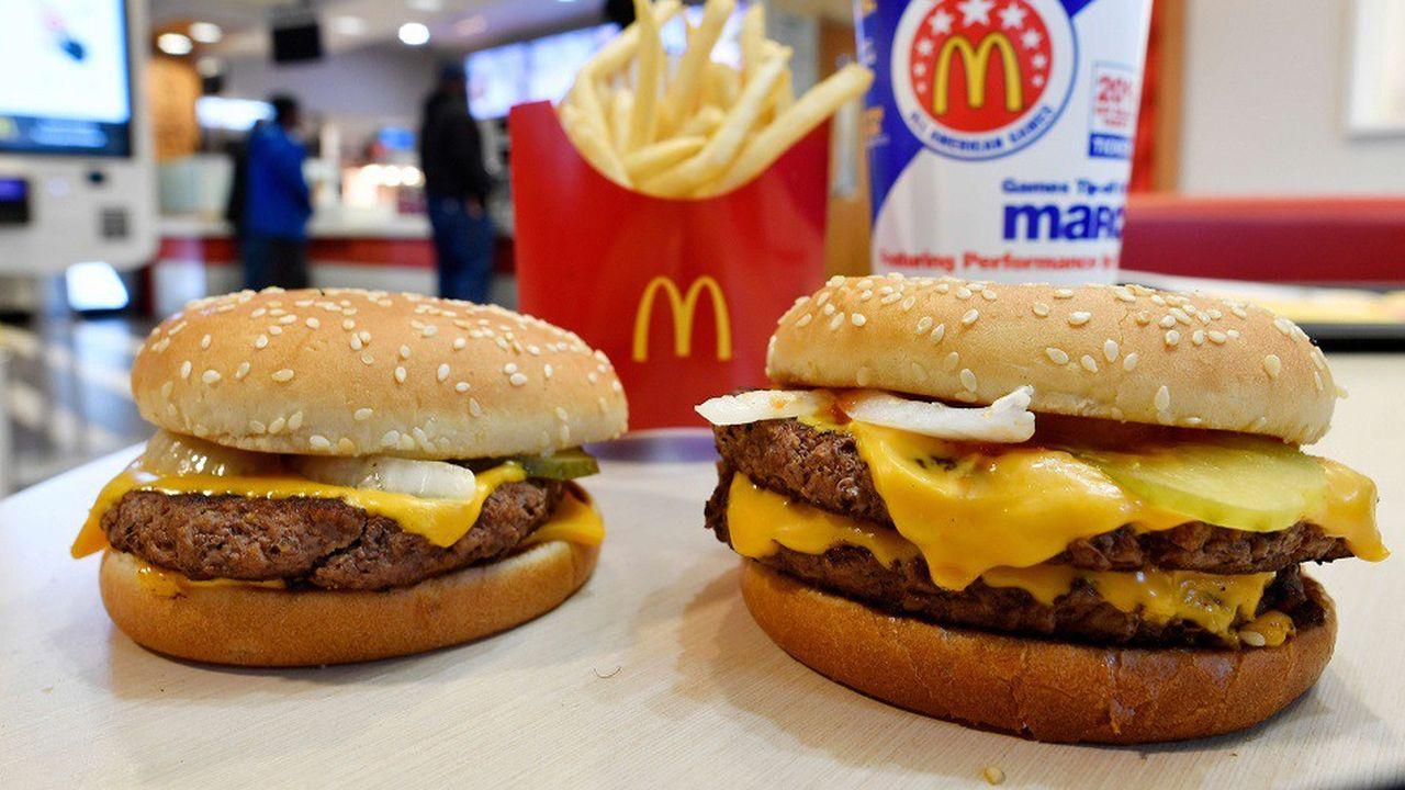 McDonald's : les burgers américains désormais sans conservateurs ...