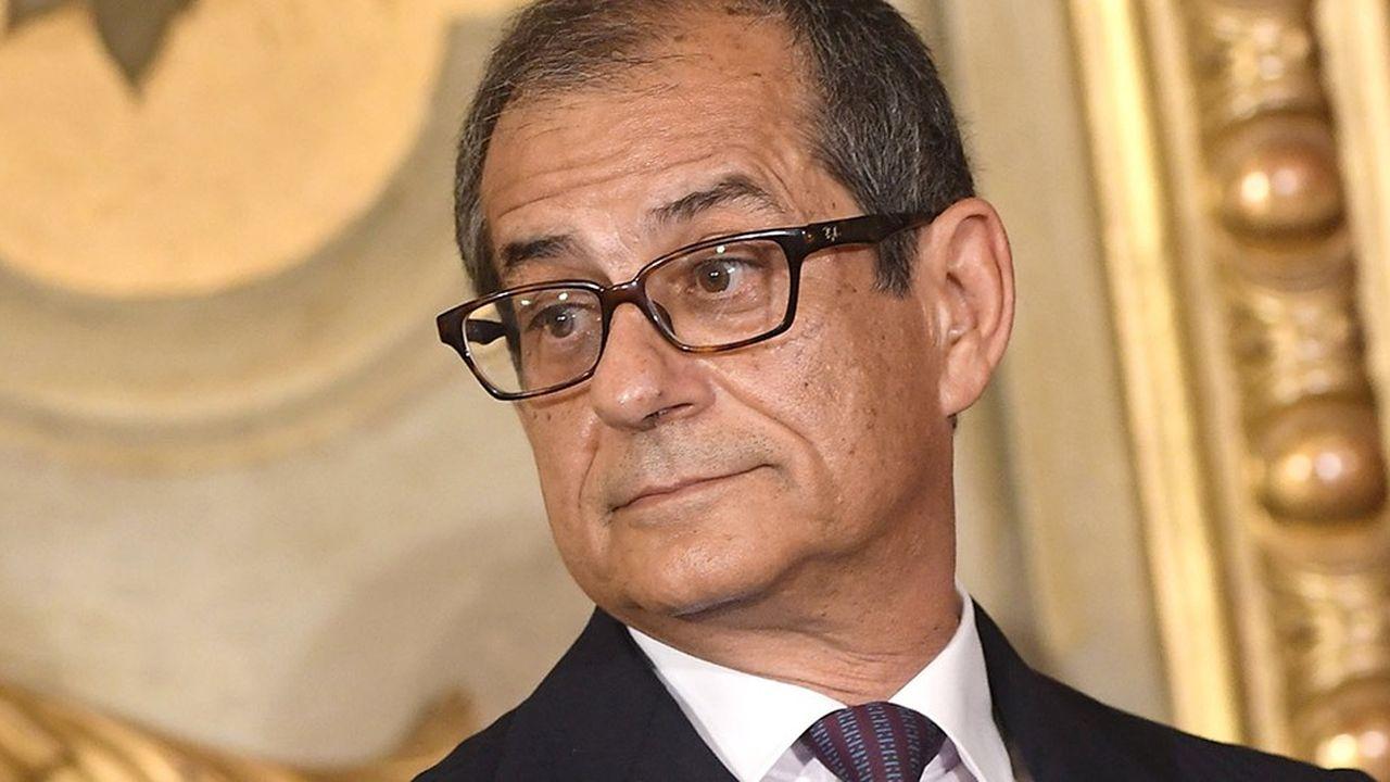 Giovanni Tria, le ministre de l'économie italien.