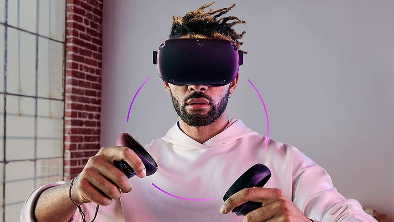 L'Oculus Quest, dernier né de la filiale de Facebook dans la réalité virtuelle, sera vendu 399dollars.