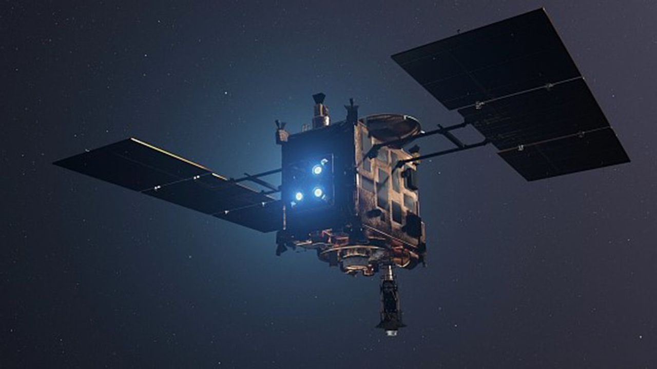Le 3 octobre,le robot franco-allemand Mascot se détachera de la sonde japonaise Hayabusa 2 pour se poser à la surface de l'astéroïde Ryugu, à 350 millions de kilomètres de la Terre.