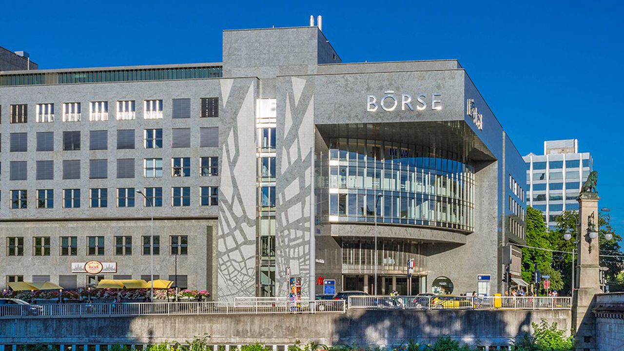 La Bourse de Zurich connaît des hauts et des bas depuis le début de l'année