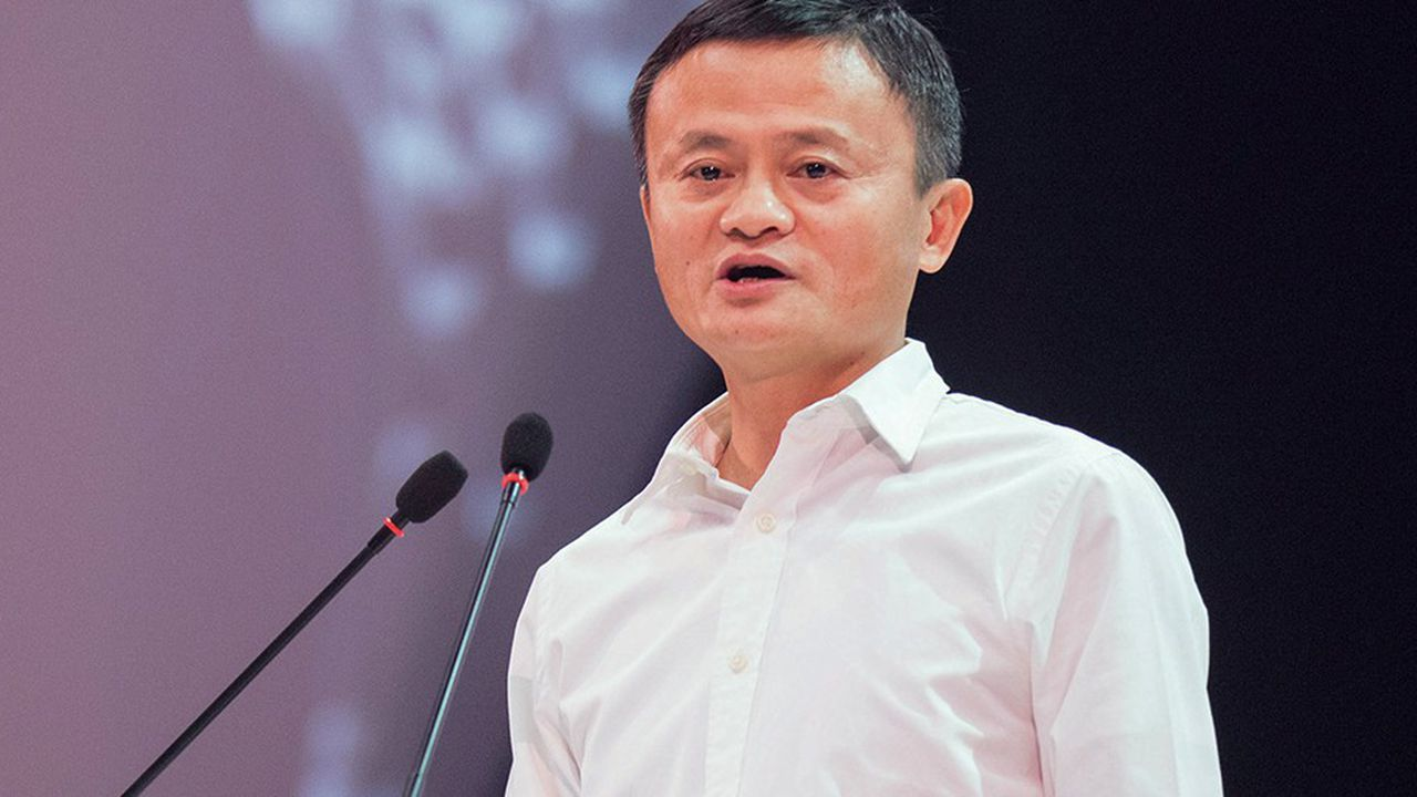 Jack Ma est resté actionnaire du groupe qu'il a fondé en 1999.