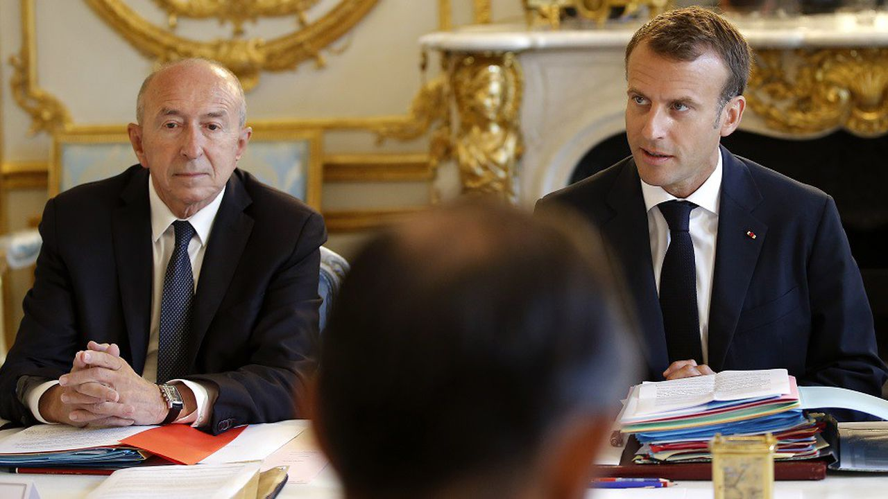Selon l'Elysée, Emmanuel Macron a demandé à Gérard Collomb de «rester pleinement mobilisé sur sa mission pour la sécurité des Français».