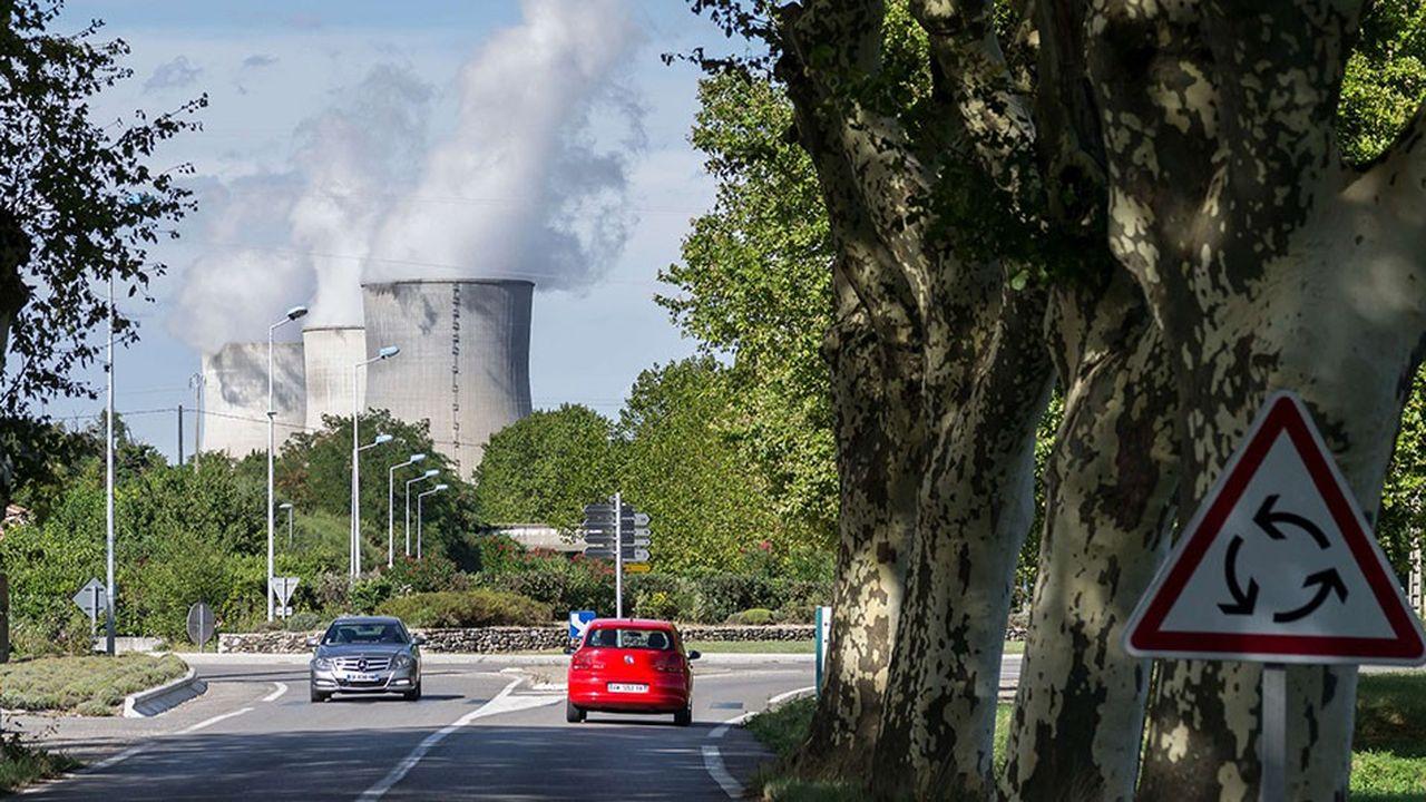 La centrale nucléaire EDF de Cruas-Meysse (Ardèche).