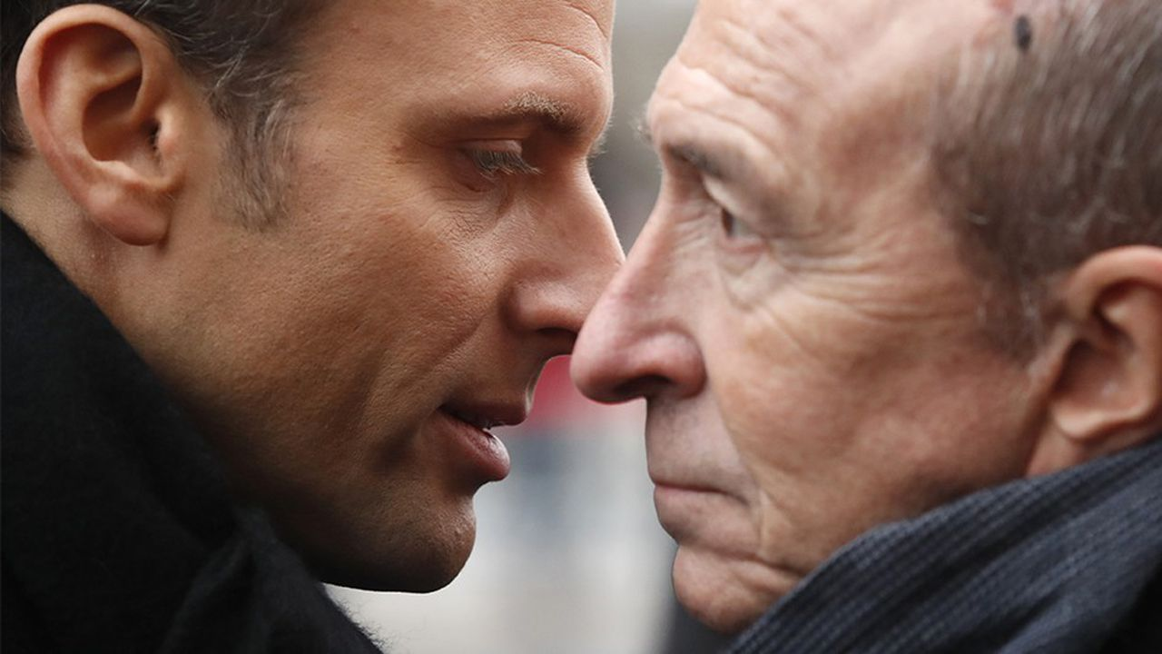 Entre Emmanuel Macron et son ministre de l'Intérieur, Gérard Collomb, quelque chose s'est rompu.
