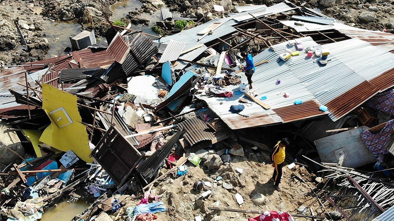 Le séisme et les inondations consécutives à la formation d'un tsunami ont été particulièrement meurtriers à Palu (photo), ville indonésienne de 200.000 habitants