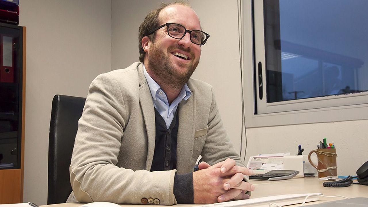 Sylvain Gendry (photo), directeur général de l'entreprise au côté de son frère Jérémie, directeur technique.
