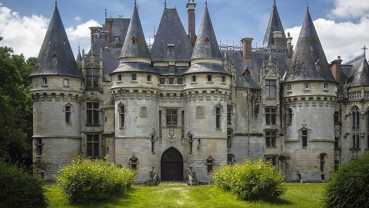 Le château est inscrit aux monuments historiques depuis 1984