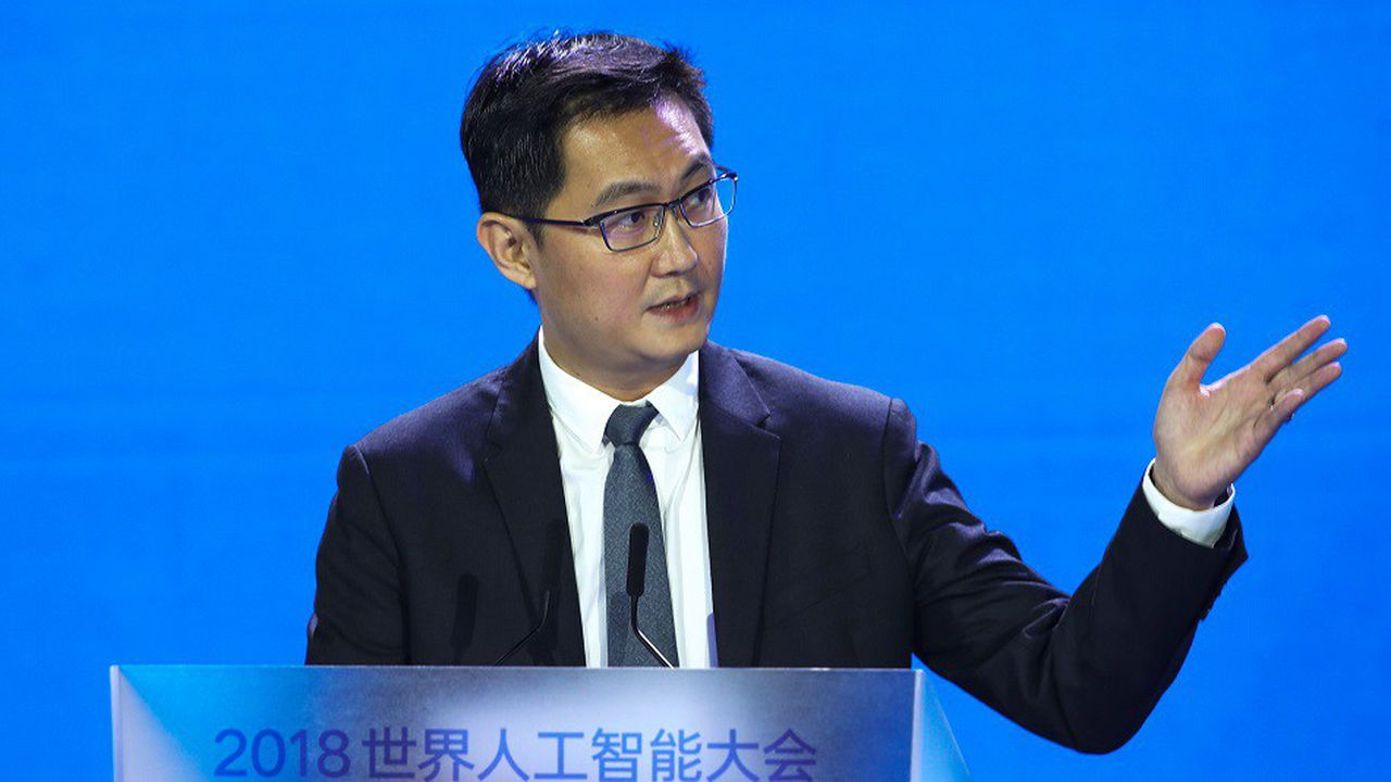 Le groupe Tencent, dirigé par Ma Huateng (en photo), détient 58 % de Tencent Music.