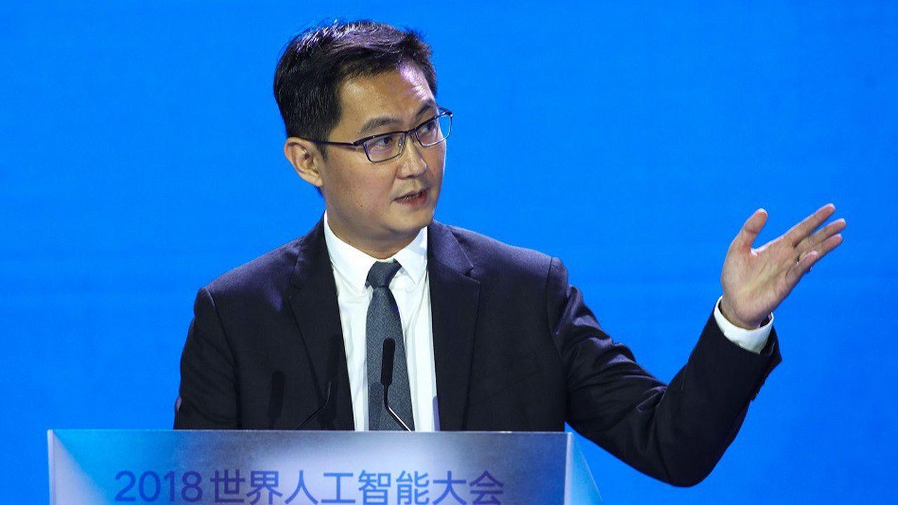 Le groupe Tencent, dirigé par Ma Huateng (en photo), détient 58% de Tencent Music.