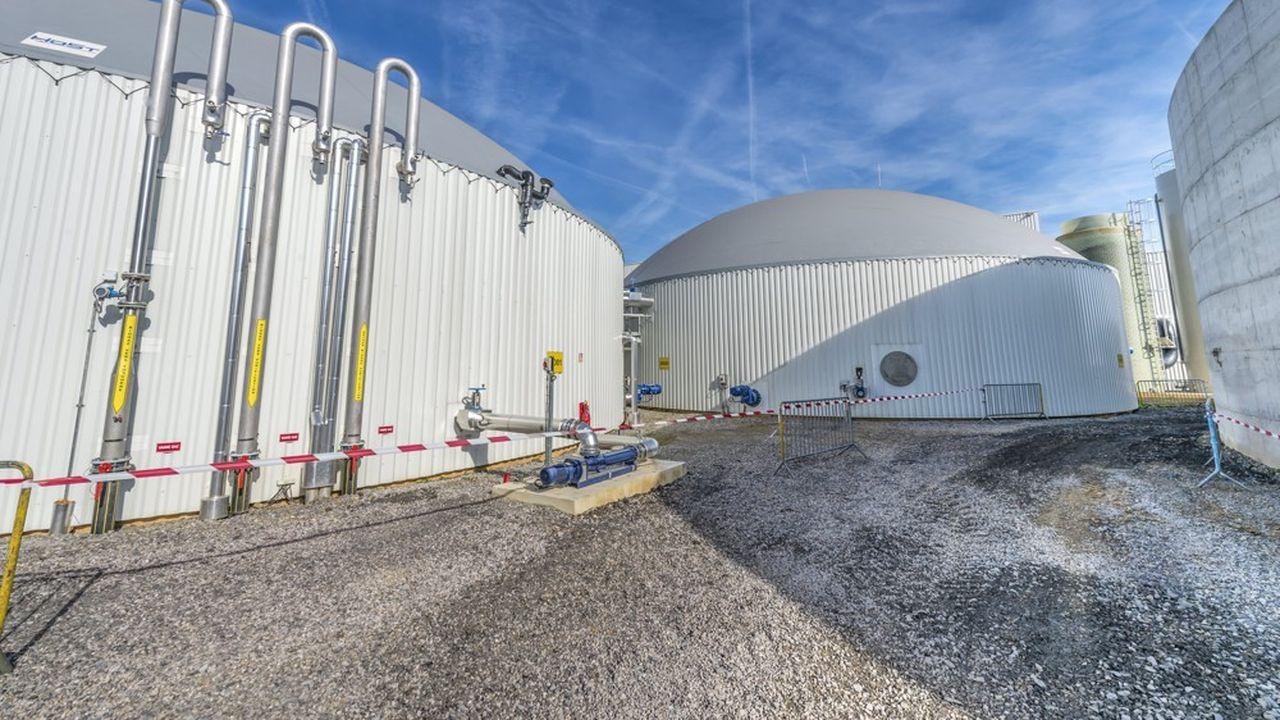 La filière du gaz mise sur l'essor du biométhane, produit à partir de déchets agricoles.