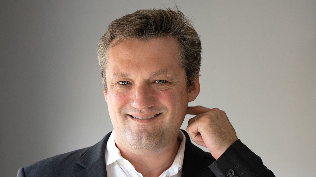 Christophe Molinié, fondateur et directeur général de Medylink.