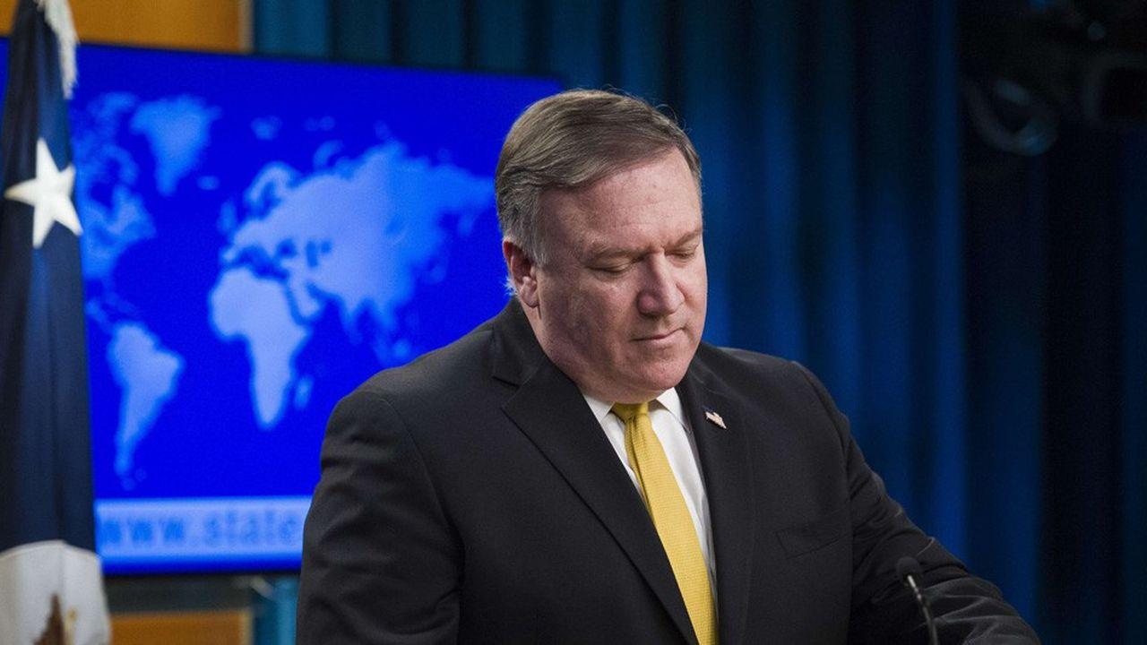 Par la voix de son chef de la diplomatie Mike Pompeo, Washington minimise le rappel à l'ordre de la justice internationale.