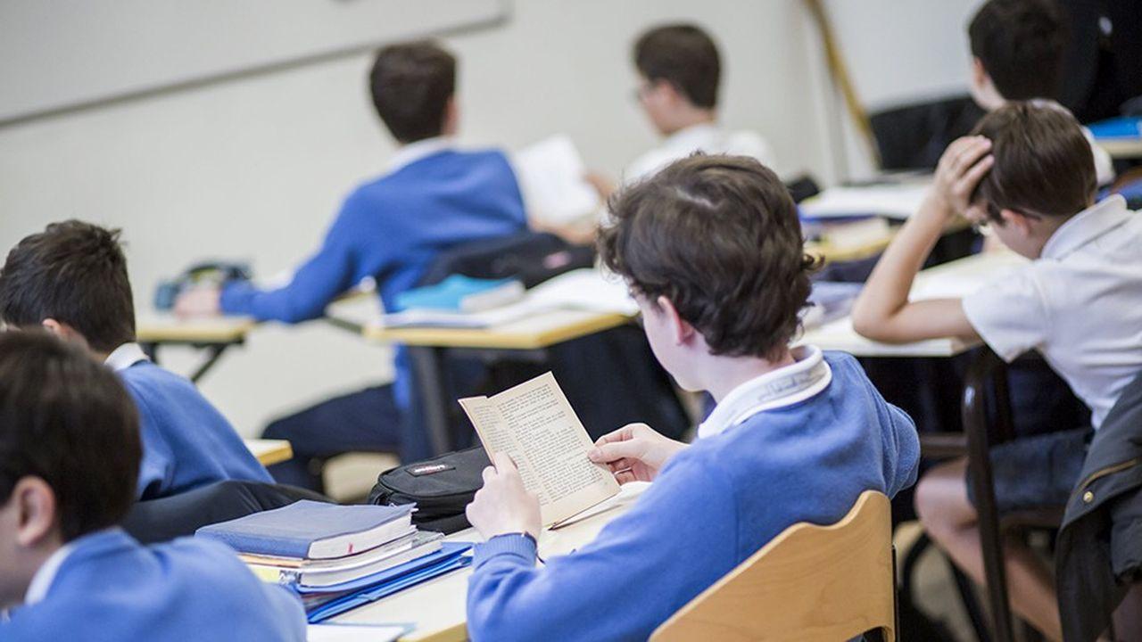 Une dizaine de collèges privés s'organisent en «groupes de besoins spécifiques», faisant fi de l'organisation traditionnelle en quatre niveaux (6e, 5e, 4e, 3e).