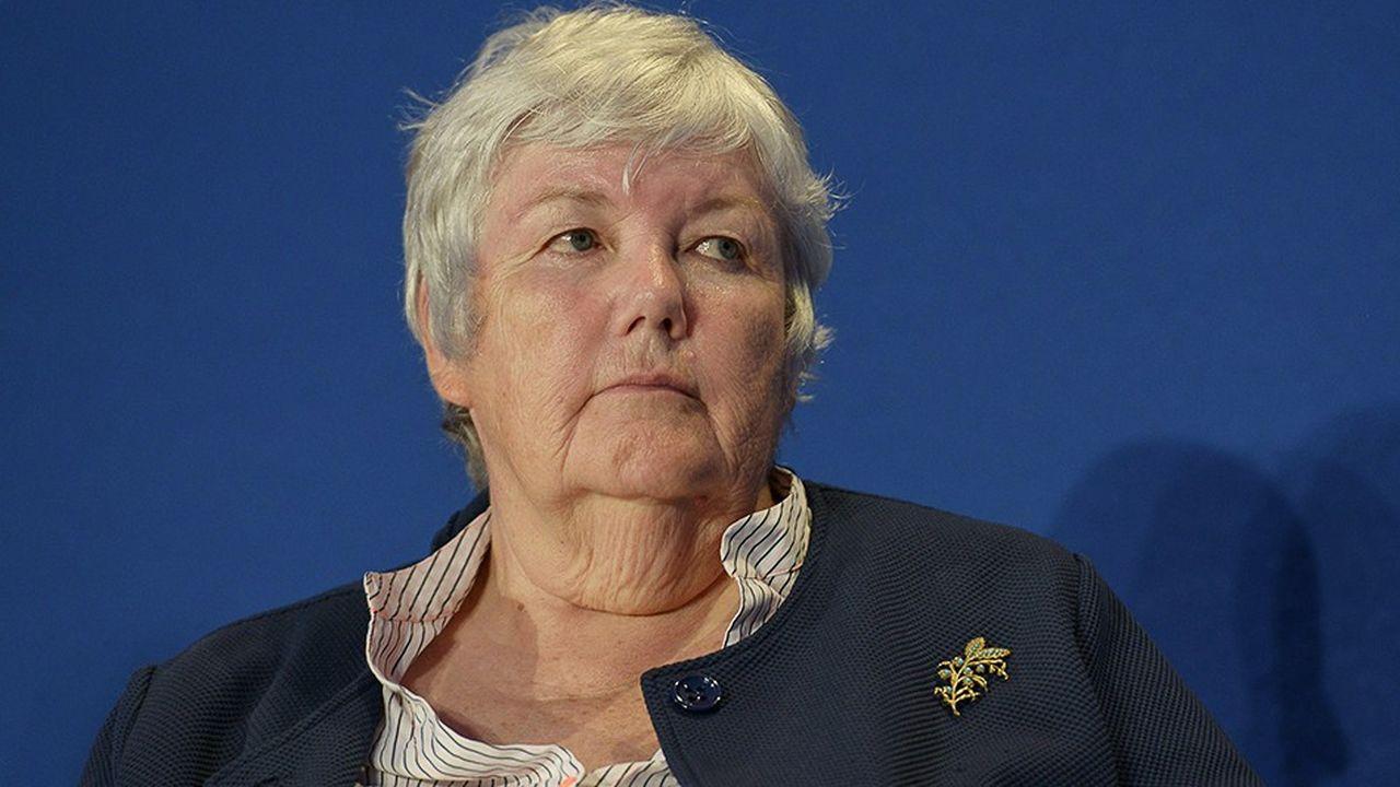Jacqueline Gourault, ministre auparavant dépendante de Gérard Collomb et désormais sous la tutelle directe du Premier ministre.