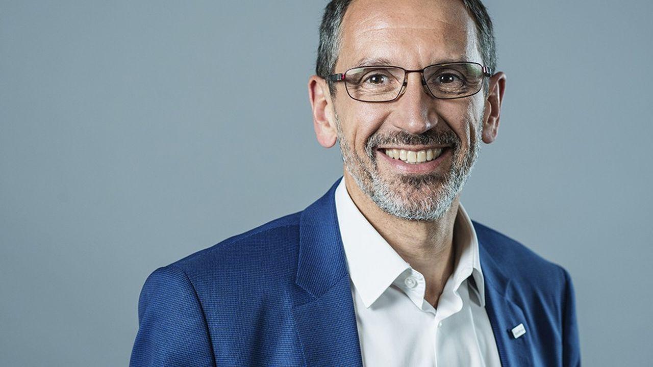 Denis Machuel, directeur dénéral de Sodexo.