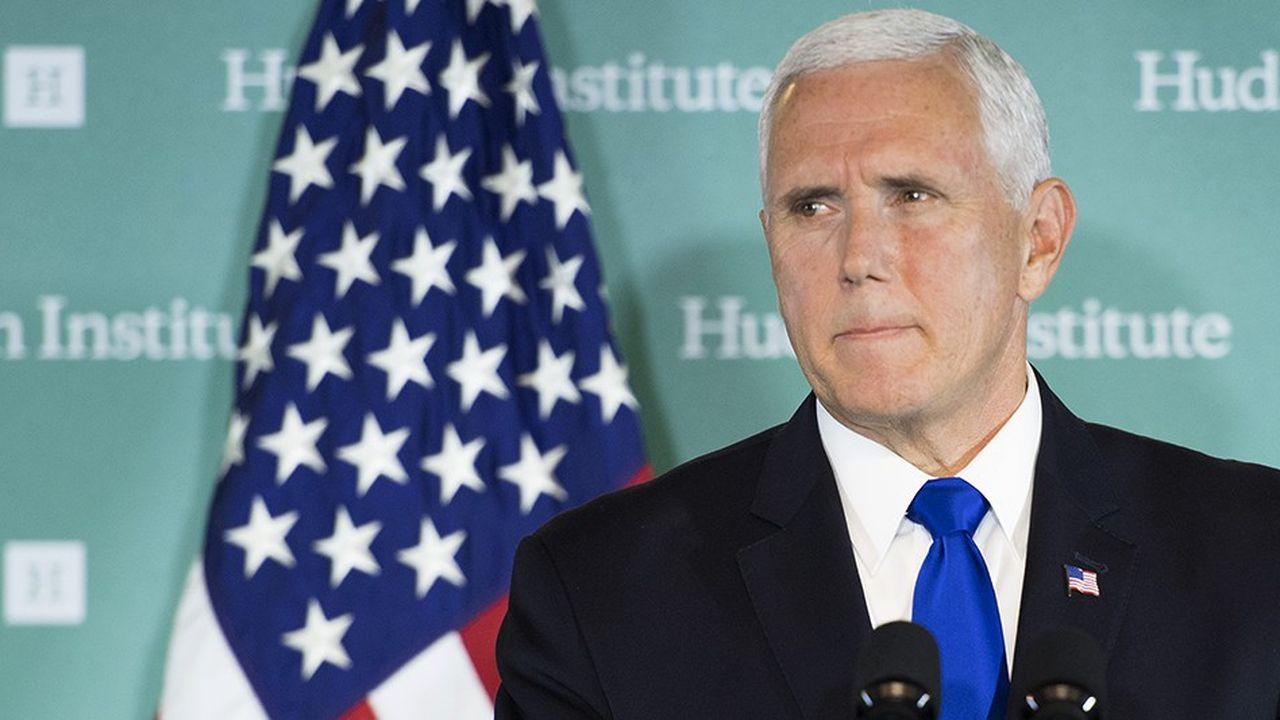 Devant un think-thank conservateur, le vice-président américain a demandé aux sociétés américaines de reconsidérer leurs projets de business avec la Chine.